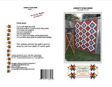 Load image into Gallery viewer, patriotic lap quilt wall hanging pattern