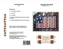 Load image into Gallery viewer, patriotic wall hanging easy to piece red white and blue
