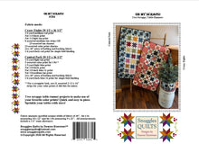Load image into Gallery viewer, Scrappy table runner quilt patterns designed by Deanne Eisenman for Snuggles Quilts