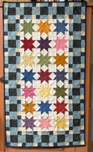 Load image into Gallery viewer, Central Park scrappy table runner pattern designed by Deanne Eisenman for Snuggles Quilts
