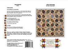 Load image into Gallery viewer, scrappy fat quarter friendly large lap quilt pattern