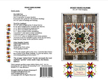 Load image into Gallery viewer, Picket Fence Blooms Wool Applique Quilt Pattern - PDF