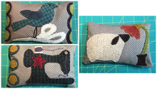 Load image into Gallery viewer, Wool applique pin cushion pattern