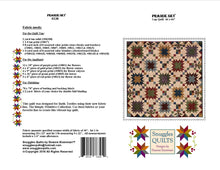 Load image into Gallery viewer, Prairie Sky Lap Quilt Pattern This beautiful lap quilt is designed using the new Simply Primitive collection from Batik Textiles. Yes, I said batiks!  These fabrics are designed to blend beautifully with primitive and 1800's reproductions.  Quilt size: 66 x 66″.