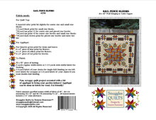 Load image into Gallery viewer, Rail Fence Blooms Quilt Pattern - PDF