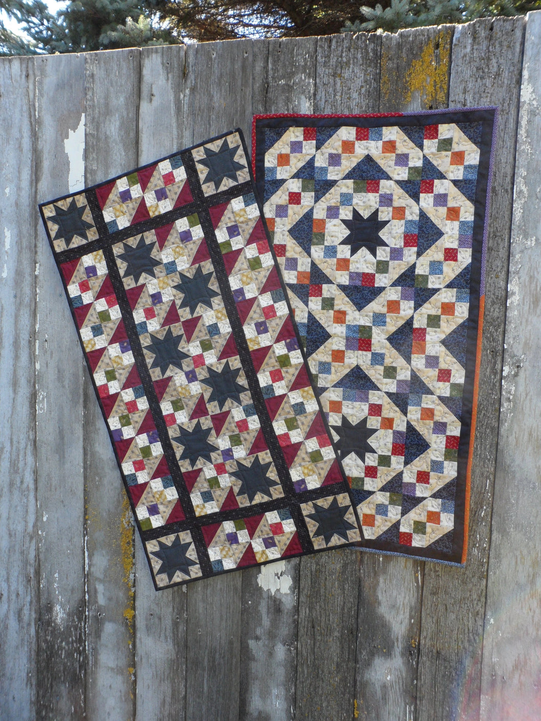 Scrappy table runner scrappy quilt pattern