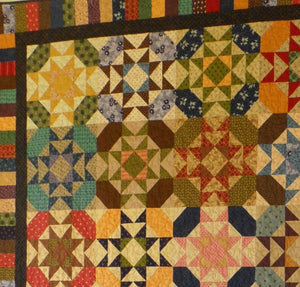 scrappy lap quilt pattern fat quarter friendly