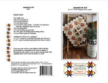 Load image into Gallery viewer, Season of Joy Quilt Pattern - PDF