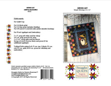 Load image into Gallery viewer, mini wool applique quilt pattern for wall hanging