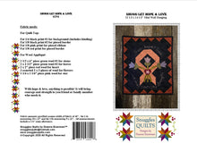 Load image into Gallery viewer, Snugg-let Hope & Love PDF - Mini Wool Applique Pattern