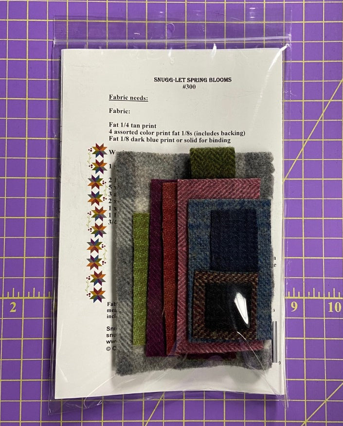 Snugg-let Spring Blooms - Wool only Kit