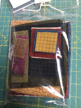 Load image into Gallery viewer, Snugg-let wool applique on fabric mini full kit