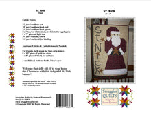 Load image into Gallery viewer, St. Nick Quilt Pattern - PDF
