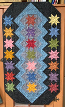 Load image into Gallery viewer, Dream Catcher scrappy table runner quilts pattern by Deanne Eisenman for Snuggles Quilts