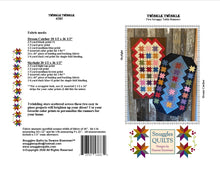 Load image into Gallery viewer, Scrappy table runner quilt pattern designed by Deanne Eisenman for Snuggles Quilts