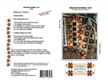 Load image into Gallery viewer, scrappy table runner quilt pattern fat friendly