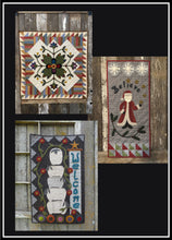 Load image into Gallery viewer, Wool Applique Pattern Pack