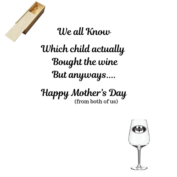 Mothers Day Wine