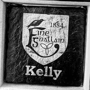 GAA Clun Engraved Slate Coaster Set
