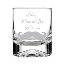 Load image into Gallery viewer, Engraved Whisky Glass  Personalised Whisky Tumbler