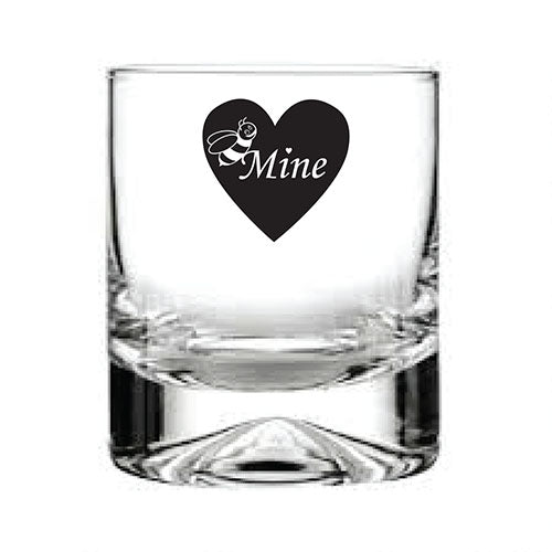 Personalised Glass Engraved Whisky Glass Bridal Party Glassware Personalised Whisky Glass