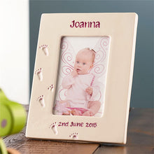 Load image into Gallery viewer, Personalised Baby Picture Frame