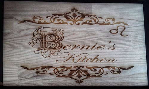Personalised Chopping Board Engraved Cutting Board