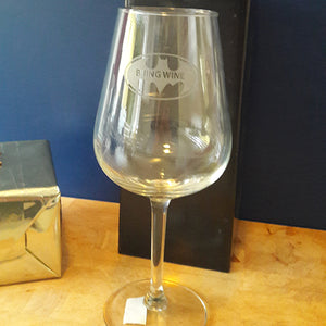 Engraved Wine Glass - Bring Wine