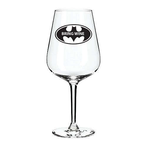 Bring Wine Engraved Wine Glass Engraved Wine Glass Personalised Wine Glass Customised Wine Glass Any Message Here Wine Glass