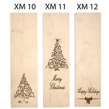 Load image into Gallery viewer, Christmas Themed Engraved Wine Box