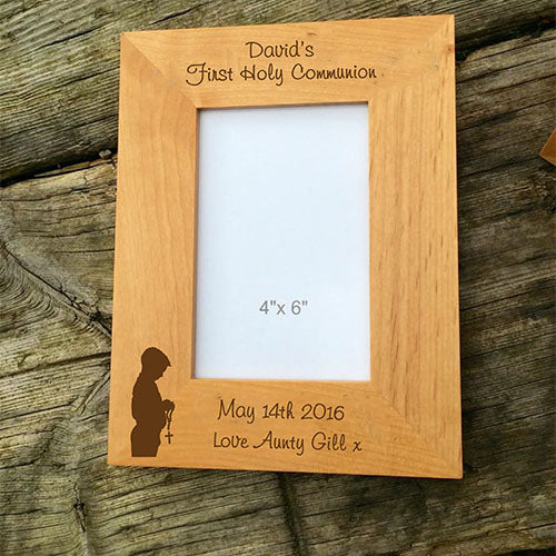 First Holy Communion Picture Frame