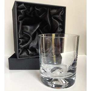 Engraved Whisky Glass Personalised Whisky Glass Engraved DOF Engraved Glass