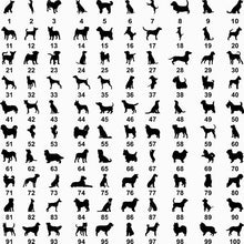 Load image into Gallery viewer, Dog Shapes