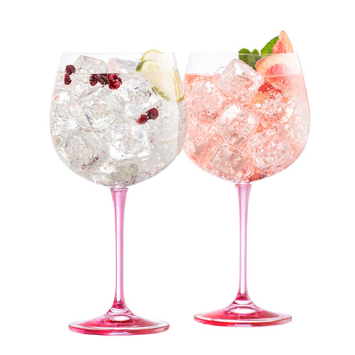 Galway Crystal Pink Gin Glassware