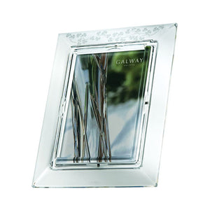 Galway Crystal Engravable Picture Frame Engraved Picture Frame Personalised Picture Frame Customised Crystal Picture Frame