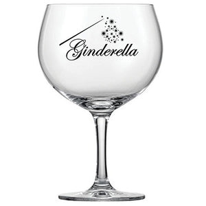 Engraved Gin Glass - Ginderella