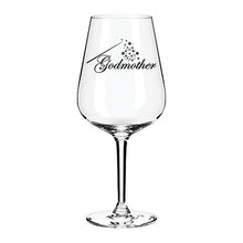 Load image into Gallery viewer, Fairy Godmother engraved wine glass