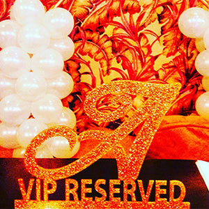 VIP Sign Name Sign Wedding Sign Initial Sign Reserved Sign