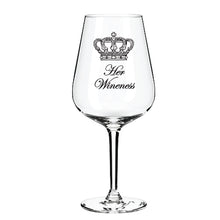 Load image into Gallery viewer, Engraved Wine Glass Personalised Wine Glass Customised Wine Glass