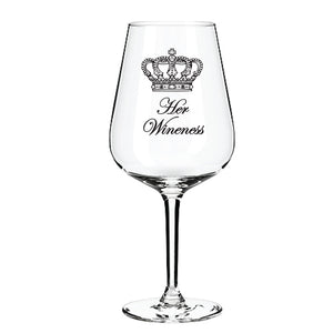 Engraved Wine Glass Personalised Wine Glass Customised Wine Glass