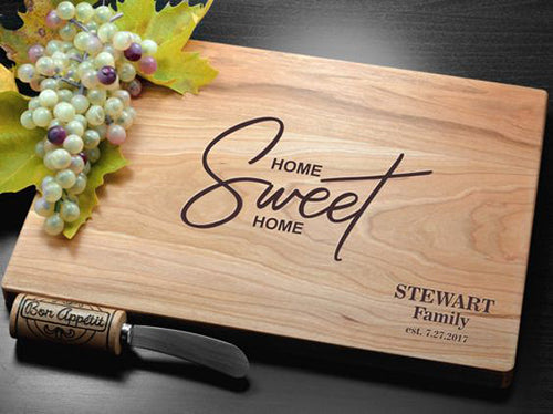 Engraved Chopping Board Personalised Cutting Board