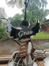 Load image into Gallery viewer, Personalised Memorial Angel Stake