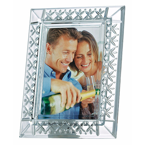 Galway Crystal Keenan Photo Frame 5X7 Photo Frame Wedding Photo Picture Frame Crystal Photo Frame