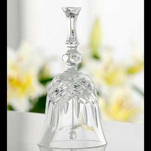 "Galway Crystal ""Make - Up"" Bell"