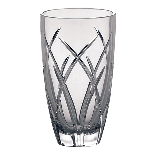 Galway Crystal Mystique Vase Engraved Crystal Wedding Gift