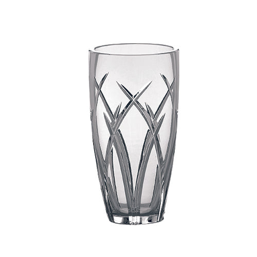 Galway Crystal Mystique Vase Engraved Crystal Vase Wedding Vase
