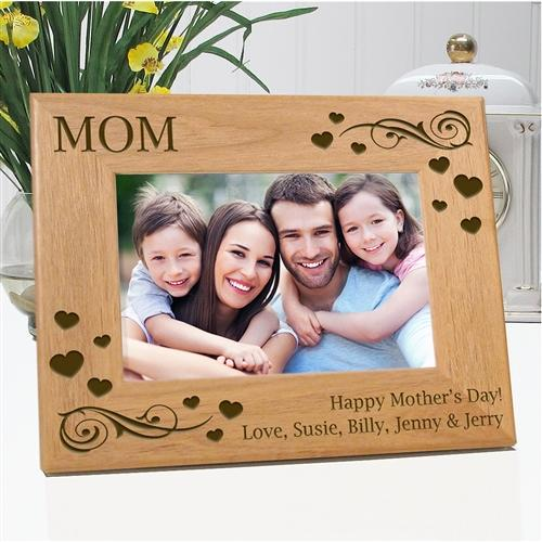 Happy Mothers Day Engraved Photo Frame