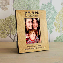 Load image into Gallery viewer, Mothers Day Gift Engraved Picture Frame
