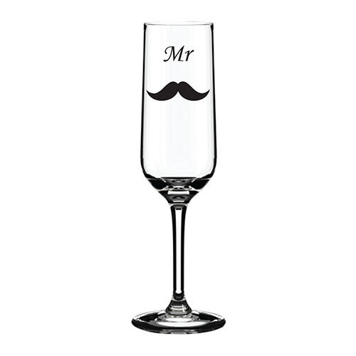 Mustache Themed Engraved Glass Mustache Engraved Champagne Flute Mustache Engraved Wedding Glass  Bridal Party Themed Glassware Bridal Party Engraved Glasses