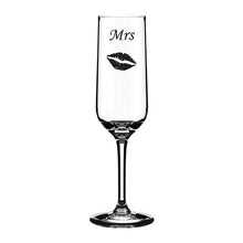 Load image into Gallery viewer, Personalised Glass Engraved Glass Glass With Lips